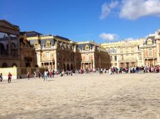 The palace at Versailles