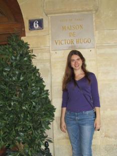 Victor Hugo's former house. (I went inside, too!)