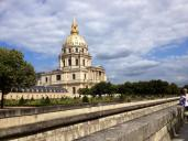 The church where Napoleon's body lies