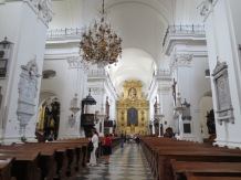 The church where Chopin's heart lies
