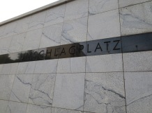 Umschlagplatz, where inhabitants of the Warsaw ghetto were taken to board trains for deportation