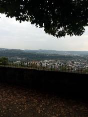 A view of Marburg from one of walls. Photo by Jenn Gramer.