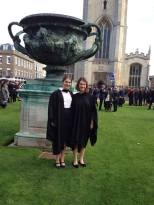 With the big urn outside the Senate house