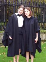 Emily and me, after graduation