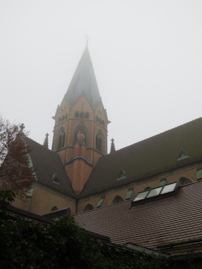 The main church tower