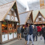"Medieval Christmas market at Odeonsplatz. The ""apothecary"" sold various sorts of liquor in small vials"