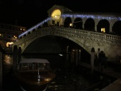 The Rialto bridge.