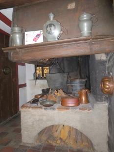An early sixteen-century kitchen at Albrecht Dürer's house