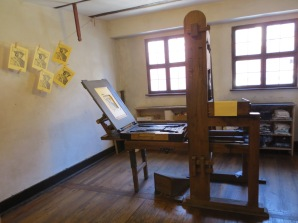 Print-making at Albrecht Dürer's house