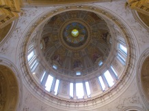 The inside of the Dome