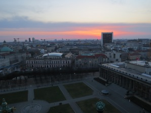 Sunset over the Reichstag