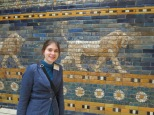 Hanging out with an Ishtar Gate lion