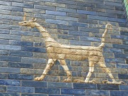 A dragon on the Ishtar Gate. Not what I've always imagined dragons to look like