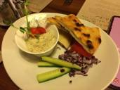Eggplant creme appetizer at Vak Varju