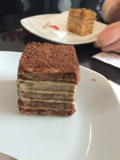 We discovered Marlenka, a honey cake, in Bratislava, and we loved it! But it turns out it's actually Armenian