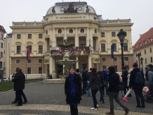 The old Slovak National Theater building