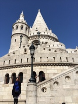 The main tower of the Fisherman's Bastion