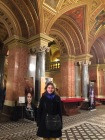 Inside the lobby of the main opera house