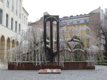 The Tree of Life, a memorial to Hungarian victims of the Holocaust