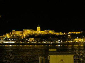 View of Buda by night