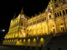 Parliament by night