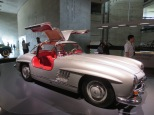 "A ""gullwings"" Mercedes from the 50s"