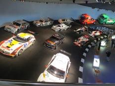 The racecar exhibit