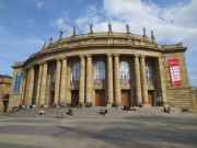 Stuttgart Opera House, where we saw a wild Rosenkavalier