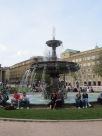 Stuttgart Schlossplatz fountain