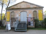 The Orangerie of the Volksgarten, which houses a little black box theatre where I saw a show