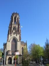 The St. Agnes Church is pretty