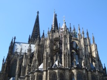 Flying buttresses in the back of the Dome