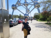 Proof that I was at the Atomium