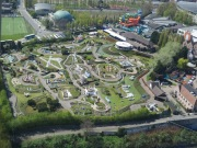 View of Miniature Europe from the top of the Atomium