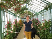 Inside the Royal Greenhouses complex