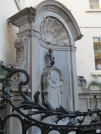 The famous Manneken Pis