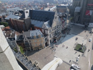 View of the old opera house from the belfry