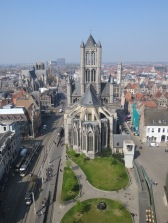 View of the church from the belfry