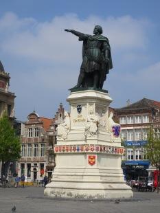 Jacob van Artevelde, the hero who saved the Gent textile industry