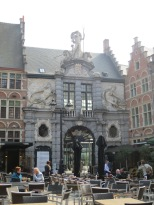 The old fish market gate