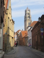 Winding medieval streets