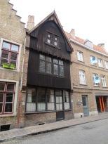 A rare original wooden facade