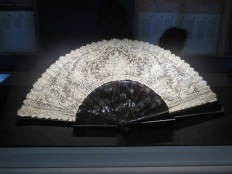 A wonderfully ornate nineteenth-century fan