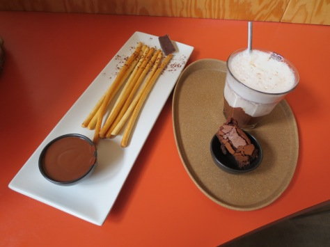 Chocolate with a side of chocolate at Quetzal