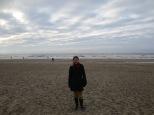 The real beach at Scheveningen