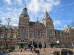 The Rijksmuseum. If you're having deja vu, yes, it does look like the central station. Same architect