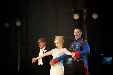 Faust, Marguerite, and Valentine