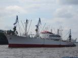Hamburg's Captain San Diego is on the move