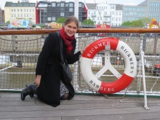 Aboard the museum ship Rickmer Rickmers