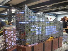 Hamburg's concert house may still be under construction in real life, but it's finished in miniature!